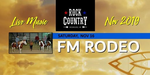 FM Rodeo at Rock Country!
