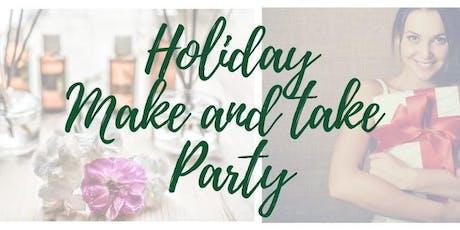 Holiday Make & Take with Gina tickets
