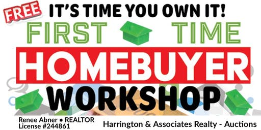 First Time Homebuyer Workshop