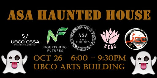 ASA Haunted House