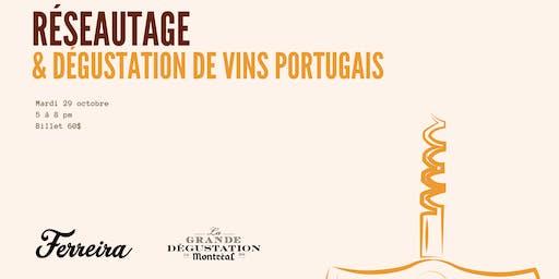 Réseautage & dégustation de vins portugais