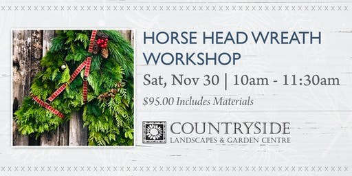 Horse Head Wreath Workshop