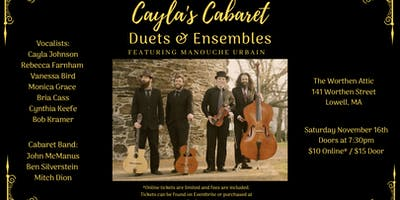 Cayla's Cabaret: Duets and Ensembles!