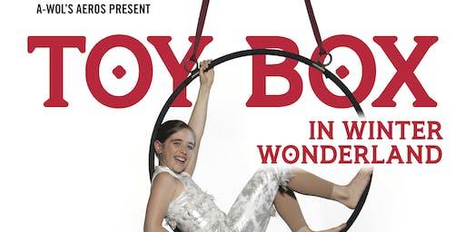 A-WOL Aeros Present: Toy Box Saturday December 7, 2019 6pm