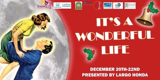 Its a Wonderful Life- Saturday, Dec 21 7pm