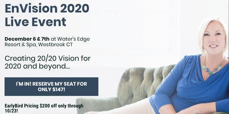 EnVision 2020 ~Creating 20/20 Vision for 2020 and beyond for you & your business! tickets