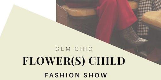 Flower(s) Child Fashion Show