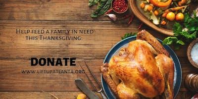 Lift Up Atlanta's 2019 Thanksgiving Food Drive