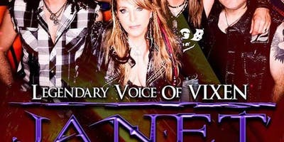 Janet Gardner (Legendary Voice of Vixen)
