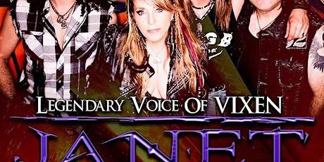 Janet Gardner (Legendary Voice of Vixen) tickets