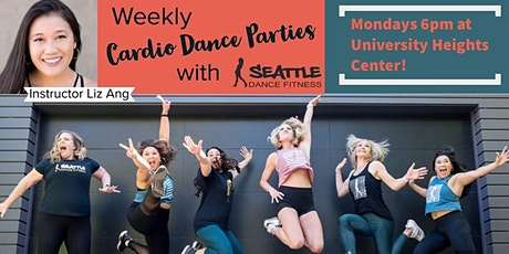 SDF Cardio Dance Party with instructor Liz tickets