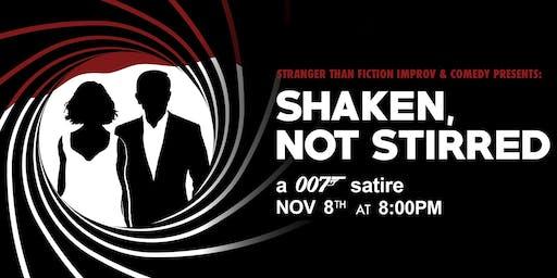 Shaken, Not Stirred: Friday Night Improv