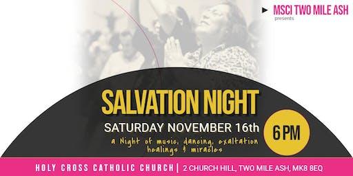 Salvation Night in Two Mile Ash, Milton Keynes