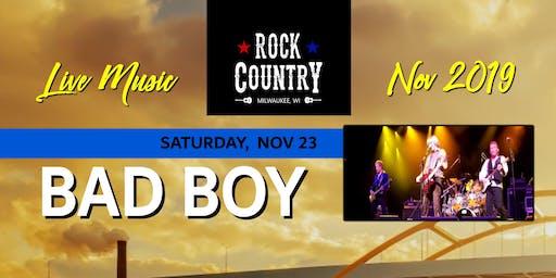Bad Boy at Rock Country!
