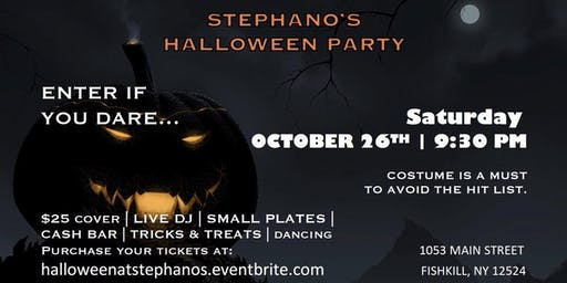 HALLOWEEN PARTY AT STEPHANO'S