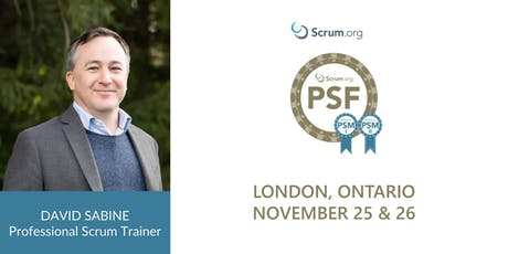 Professional Scrum Foundations (PSF) — London Ontario tickets