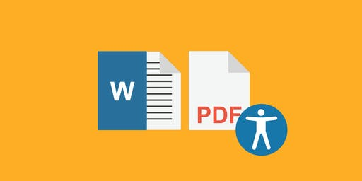 Accessibility 2: Accessible Course Documents – Nov. 15 10AM - 12PM