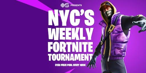 NYC's Weekly Fortnite Tournament