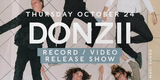 Concert Series: DONZII - Record/Video Release Party