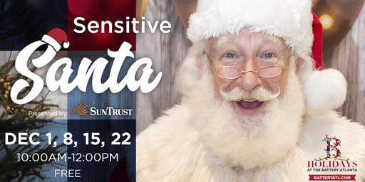 2019 Sensitive Santa at The Battery Atlanta