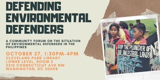 Defending Environmental Defenders in the Philippines