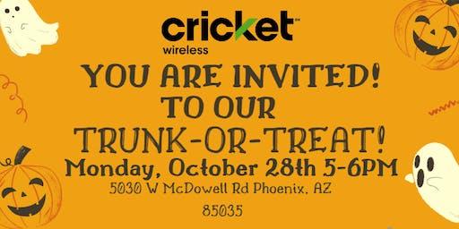 Cricket Wireless Trunk or Treat
