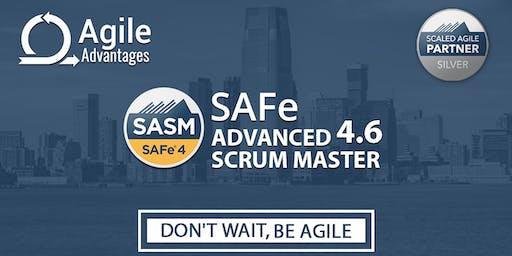 SAFe Advance Scrum Master (4.6) Training - Princeton, USA
