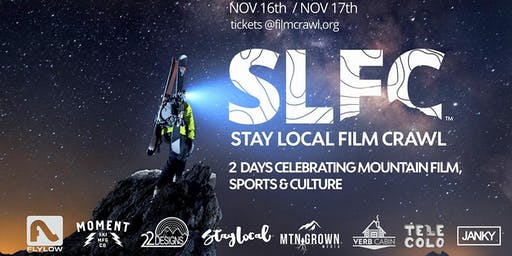 Stay Local  Film Crawl™ / Sunday / Nov 17