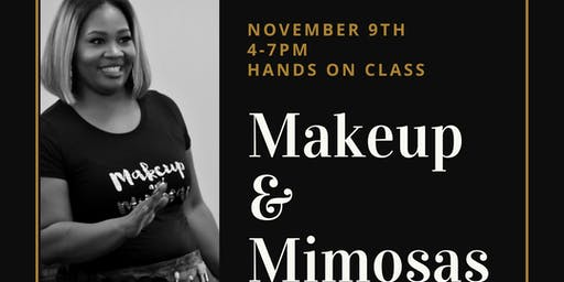 Makeup and Mimosas Hands on Class