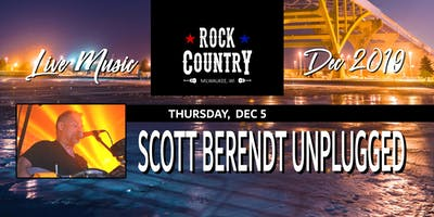 Scott E Berendt Unplugged at Rock Country!