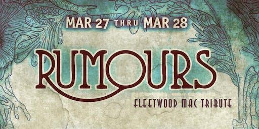 Rumours: Fleetwood Mac Tribute