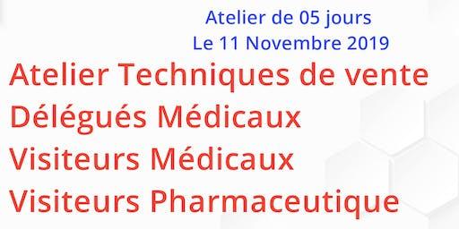Formation au profit des Délégués Médicaux et visiteurs pharmaceutiques