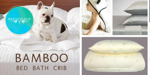 BedVoyage Friends & Family BamBOO Warehouse Sale - Woodinville Oct 31-Nov 2