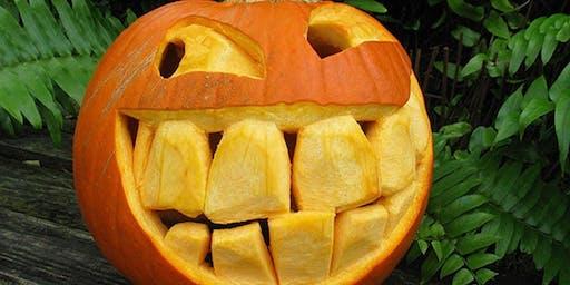 Family Pumpkin Carving!  CASH Prizes!