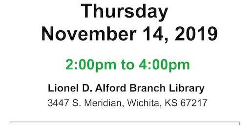 Alford Library Community Job Fair 11-14-2019