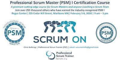 Scrum.org Professional Scrum Master (PSM)- Marlboro MA - Feb 5-6, 2020