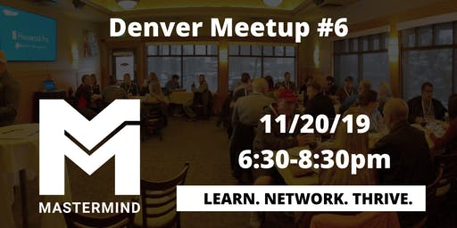 Denver Home Service Professional Networking Meetup  #6