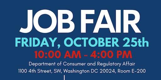 DCRA  & DCHR Job Fair