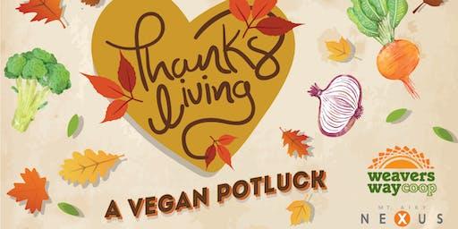 ThanksLiving: A Vegan Potluck