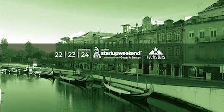 1º Startup Weekend Aveiro bilhetes