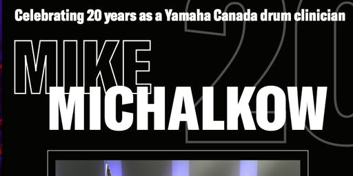 Yamaha Drum Clinic featuring Mike Michalkow
