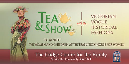 Victorian Vogue Historian Fashion Show & Tea
