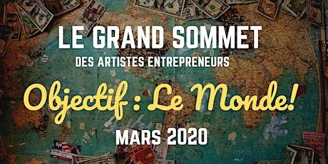 LE GRAND SOMMET DES ARTISTES ENTREPRENEURS 2020 billets
