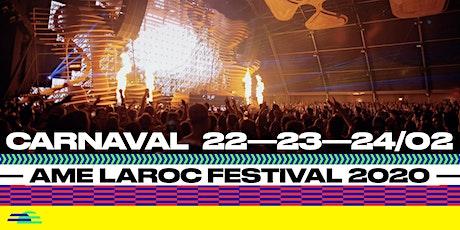 Ame Laroc Festival 2020 - Passaporte ingressos