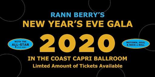 Rann Berry's New Years Eve Gala 2020 in the Coast Capri Ballroom