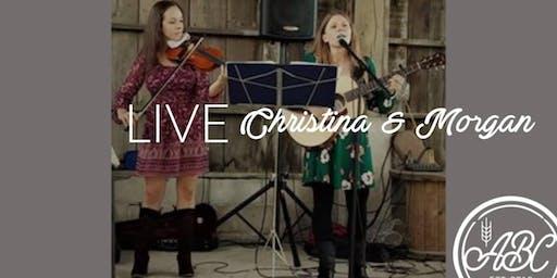 LIVE with Christina & Morgan