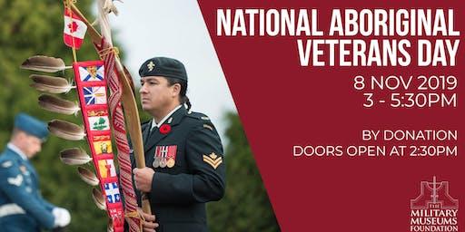 National Aboriginal Veterans Day