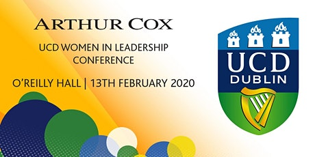 Arthur Cox UCD Women in Leadership Conference 2020 tickets