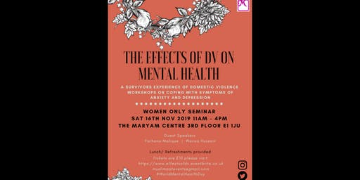 The Effects of DV on Mental Health