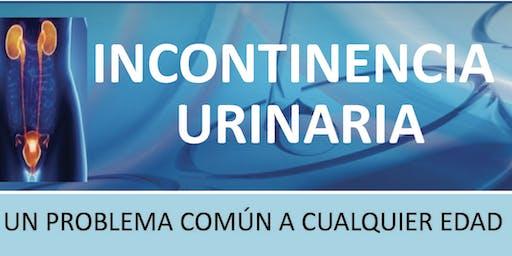 Seminario y Cena: INCONTINENCIA URINARIA